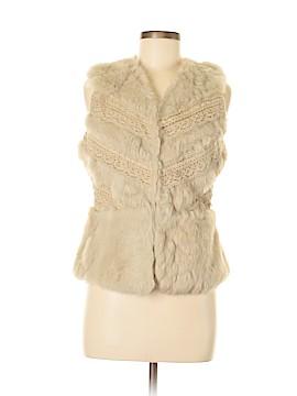 Aryn K. Faux Fur Vest Size S