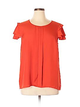 Kensie Short Sleeve Blouse Size XL