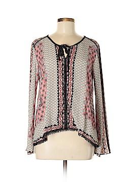 Dina Be Long Sleeve Blouse Size M