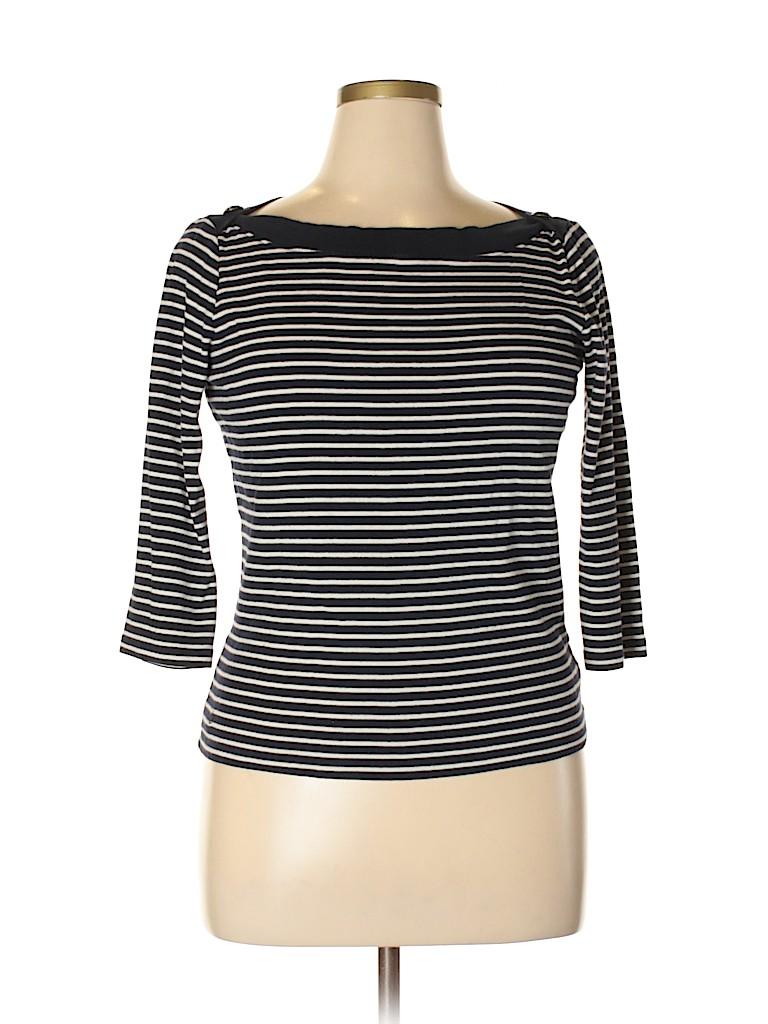 Lauren by Ralph Lauren Women 3/4 Sleeve Top Size L
