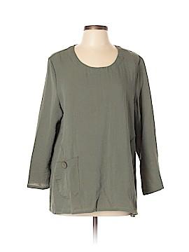 Lulu-B 3/4 Sleeve Blouse Size L