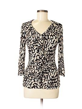 Classiques Entier 3/4 Sleeve Silk Top Size M