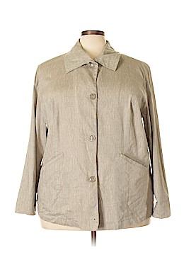 Ulla Popken Long Sleeve Button-Down Shirt Size 20 (Plus)