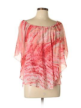 JM Collection Short Sleeve Blouse Size L