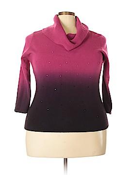 Elementz Pullover Sweater Size 1X (Plus)