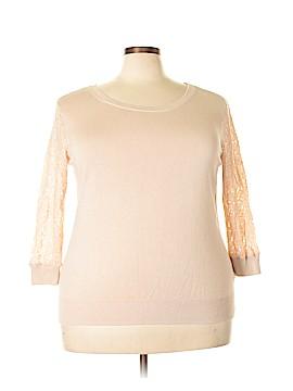 Roz & Ali Pullover Sweater Size 3X (Plus)