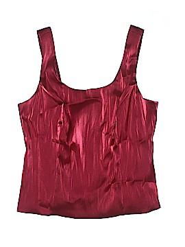 J.R. Nites by Carol Lin Sleeveless Blouse Size 10