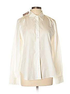 Loro Piana Long Sleeve Button-Down Shirt Size 50