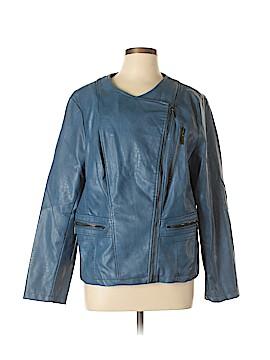 Alfani Faux Leather Jacket Size XL