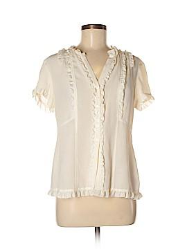 Grace Elements Short Sleeve Silk Top Size 10