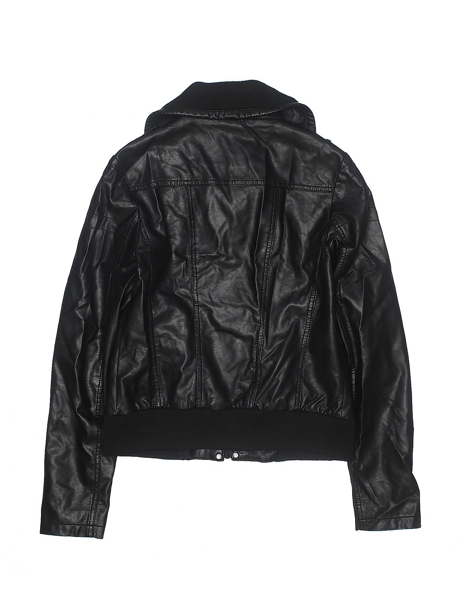 Leather Faux Boutique Jacket Xhilaration leisure qRTnXYt
