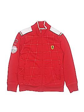 Ferrari Track Jacket Size 7 - 8Y
