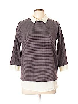 Ann Taylor Factory 3/4 Sleeve Top Size L (Petite)
