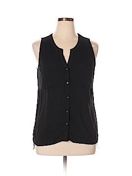 Converse Sleeveless Button-Down Shirt Size XL