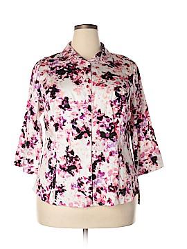 Apt. 9 Long Sleeve Button-Down Shirt Size 1X (Plus)