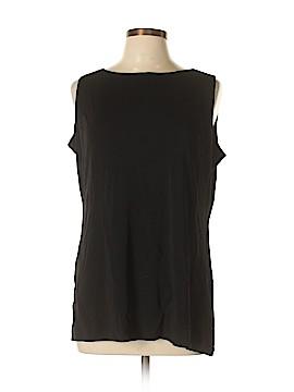 Liz Claiborne Collection Sleeveless Top Size L