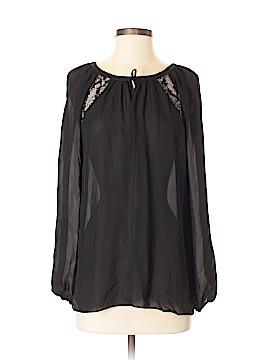 Ramy Brook Long Sleeve Silk Top Size S