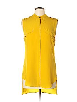 Robert Rodriguez Short Sleeve Silk Top Size 6