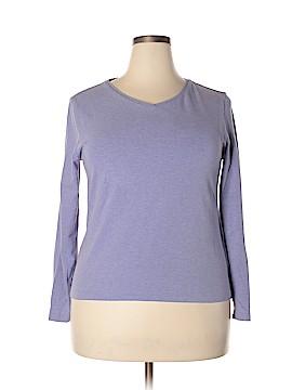 Lands' End Long Sleeve T-Shirt Size 18 - 20 (Plus)