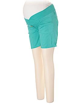 H&M Mama Denim Shorts Size 10 (Maternity)