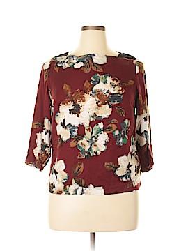 M&S 3/4 Sleeve Blouse Size 16 (UK)