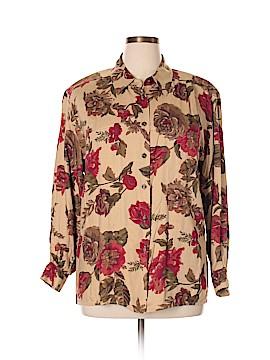 Liz Claiborne Collection Long Sleeve Blouse Size 14