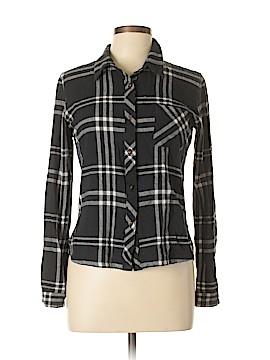 Element Long Sleeve Button-Down Shirt Size L