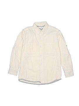 Pd&c Long Sleeve Button-Down Shirt Size 6