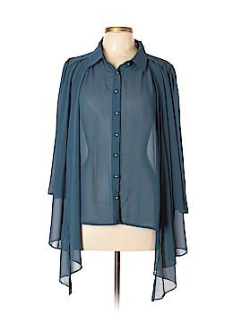 Perch by Blu Pepper Long Sleeve Blouse Size XL