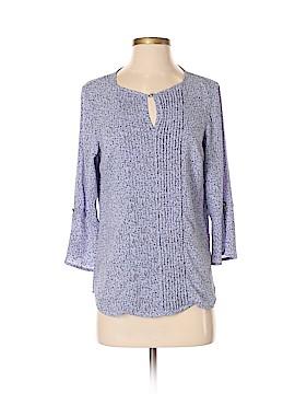 Roz & Ali 3/4 Sleeve Blouse Size S