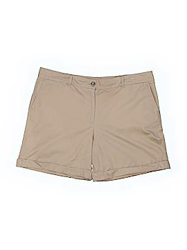 Lands' End Khaki Shorts Size 16