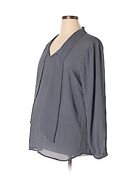 Ann Taylor LOFT Maternity Long Sleeve Blouse Size XL (Maternity)