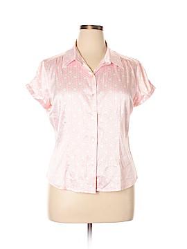 Chadwicks Short Sleeve Button-Down Shirt Size 16