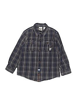 Timberland Long Sleeve Button-Down Shirt Size 4T