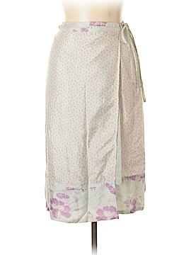 Noa Noa Silk Skirt Size L
