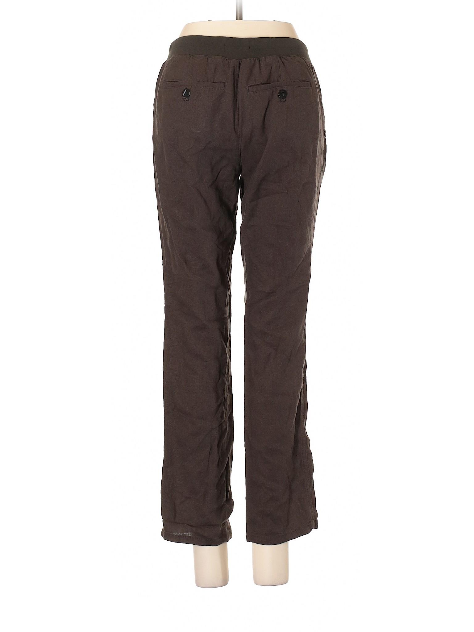 Outlet winter Pants Leisure Gap Linen qfHw0AP