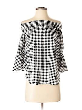 7th Avenue Design Studio New York & Company 3/4 Sleeve Blouse Size XS