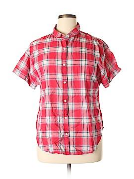 Universal Thread Short Sleeve Button-Down Shirt Size XL