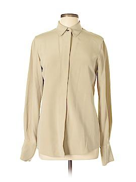 Lands' End Long Sleeve Silk Top Size 6