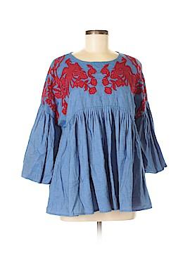 Hemant And Nandita 3/4 Sleeve Blouse Size M
