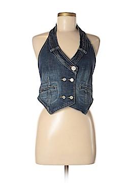 BCBGMAXAZRIA Denim Vest Size M
