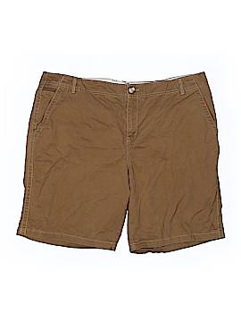 Eddie Bauer Khaki Shorts Size 20 (Plus)