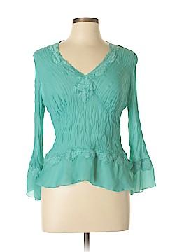 Allison Taylor Long Sleeve Blouse Size L