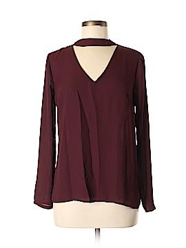 SWS Streetwear Society Long Sleeve Blouse Size M