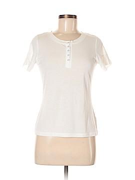 Caslon Short Sleeve Henley Size M (Petite)