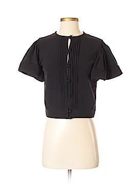 Jill Stuart Short Sleeve Blouse Size Med (2)