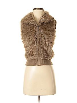 Arizona Jean Company Faux Fur Vest Size XS