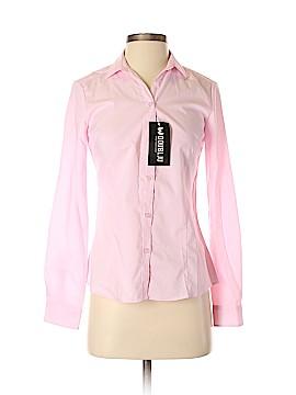 Doublju Long Sleeve Button-Down Shirt Size XS