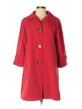 Liz Claiborne Trenchcoat Size L (Petite)