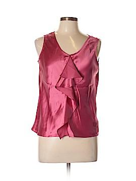 Anne Klein Sleeveless Silk Top Size 14 (Petite)